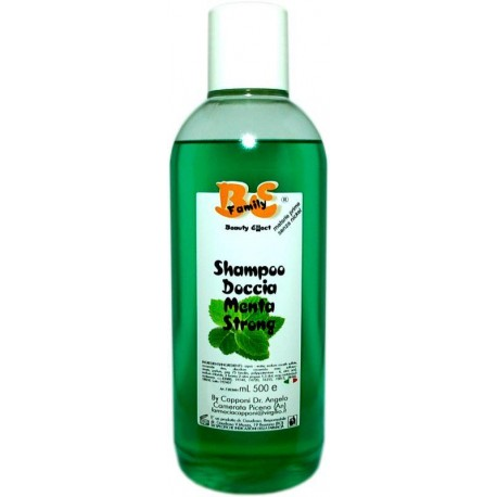 Shampoo-Doccia MENTA STRONG (250ml)